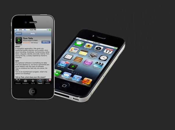 TomTells, an iPhone app